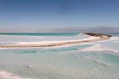 Le paysage de mer morte image libre de droits
