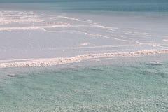 Le paysage de mer morte photos stock