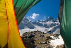 Le paysage de montagne est Photographie stock libre de droits