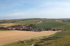 Le paysage de Picardie photographie stock libre de droits