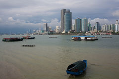 Le paysage de Xiamen Photo stock
