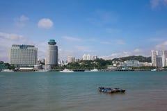 Le paysage de Xiamen Photo libre de droits