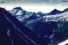 Le paysage des Monts Oural Les montagnes d'Ural Paysage de la Russie Photos libres de droits