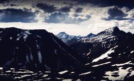 Le paysage des Monts Oural Les montagnes d'Ural Paysage de la Russie Images libres de droits