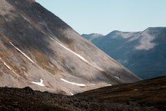 Le paysage des Monts Oural Les montagnes d'Ural Paysage de la Russie Photo stock