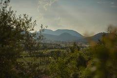 Le paysage du Colli Euganei photo stock