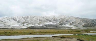Le paysage du plateau dans la province de Sichuan de la porcelaine Photo stock