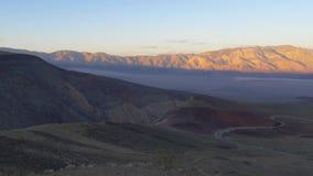 Le paysage infini chez Death Valley la Californie clips vidéos