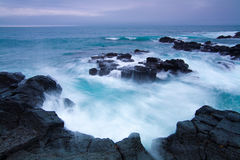 Le paysage marin buatiful en Corée image stock