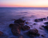 Le paysage marin buatiful en Corée Photographie stock libre de droits