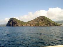Le paysage marin d'Angra font Heroismo Photographie stock libre de droits
