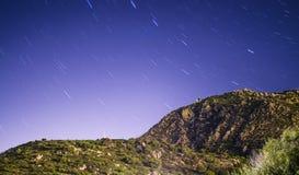 Le paysage montagneux tient le premier rôle polaire Villasimius en Sardaigne image libre de droits