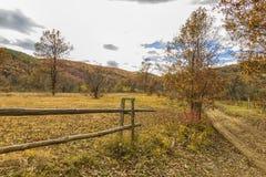 Le paysage rural d'automne Image stock