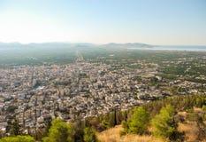 Le paysage urbain d'Argos photos libres de droits