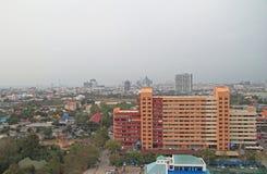 Le paysage urbain de la ville Pattaya Photographie stock libre de droits