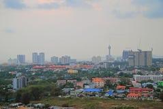 Le paysage urbain de la ville Pattaya Photos stock