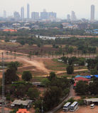 Le paysage urbain de la ville Pattaya Images libres de droits