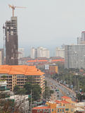 Le paysage urbain de la ville Pattaya Photo stock