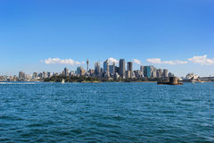 Le paysage urbain de Sydney Image libre de droits