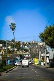 Le paysage urbain de Valparaiso Photos stock