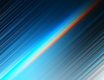 Le pectrum au néon diagonal rayonne le fond de tache floue de mouvement photographie stock