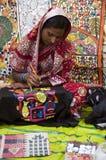 Le peintre féminin Photo libre de droits