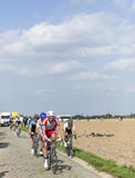Le peloton Paris Roubaix 2014 Images stock