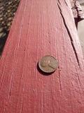 Le penny solitaire 1951 des USA image libre de droits