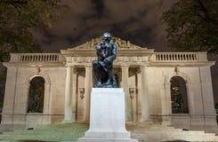 Le penseur chez Rodin Museum photographie stock libre de droits