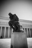 Le penseur par Rodin photos stock