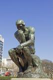 Le penseur par Rodin, Buenos Aires, Argentine image stock