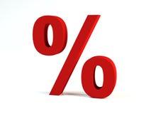 Le percentuali illustrazione vettoriale