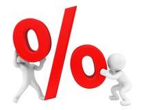 Le percentuali Immagine Stock Libera da Diritti