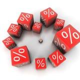 Le percentuali Immagini Stock