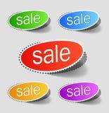 Le percentuali di vendita Immagini Stock