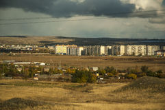 Le periferie della città di Orsk Fotografie Stock Libere da Diritti
