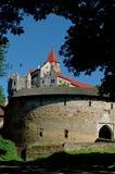 Le pernstein antique de château images libres de droits
