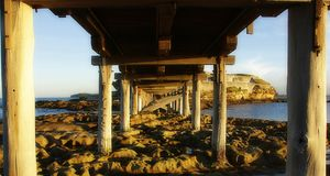 Le Perouse Bridge Photographie stock