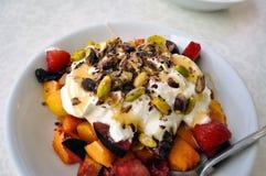 Le petit déjeuner est servi le détail photos libres de droits