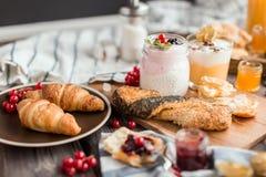 Le petit déjeuner frais Images stock