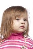 Le petit enfant avec des programmes photo stock
