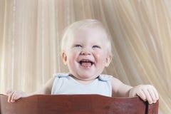 Le petit garçon de 8 mois Images libres de droits