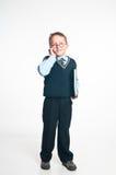 Le petit homme d'affaires Photographie stock