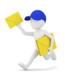 Une lettre pour vous ! illustration stock