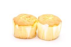 Le petit pain savoureux durcit sur le backgrond blanc Photo libre de droits