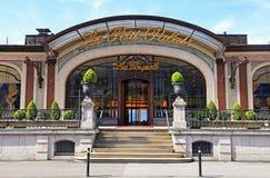 Le-Petit Palais i Montreux, Schweiz Arkivbild