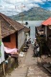 Le petit village de Truyan photographie stock libre de droits