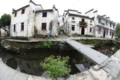 Le petit village Xiao Likeng, Chine Photo stock