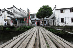 Le petit village Xiao Likeng, Chine Photographie stock libre de droits