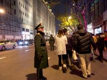 Le peuple chinois célèbre la nouvelle année Image libre de droits